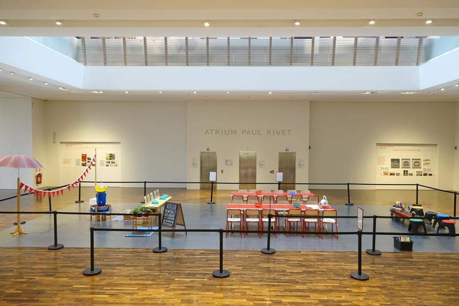 Atelier pour enfants autoportraits culinaires